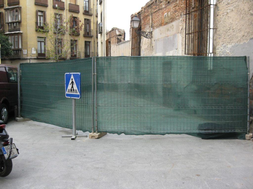 оградна мрежа за строителни обекти